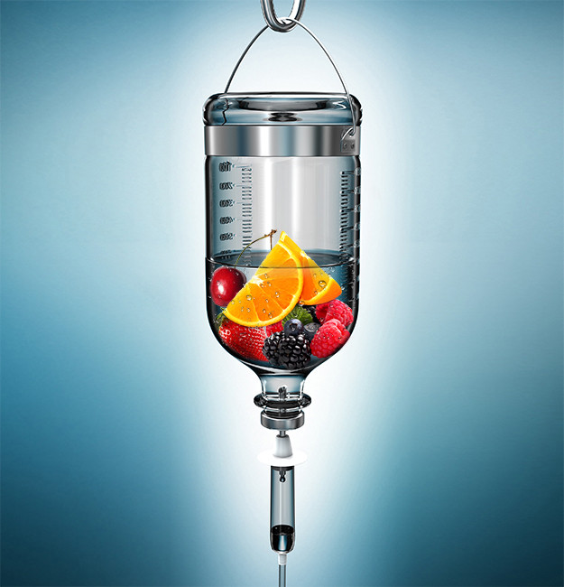 Nutrient IV Drip Graphic